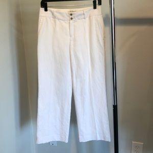 Banana Republic Martin fit cotton/linen trouser